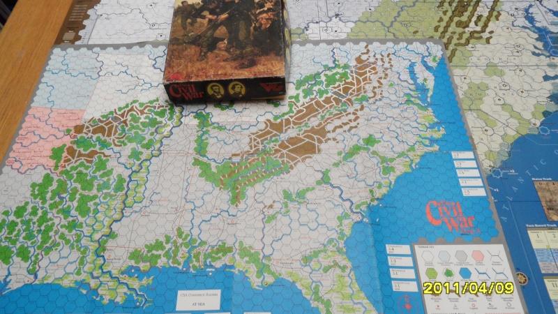 "CR: US Civil War de GMT  ""Campaign Game""  Sam_2510"