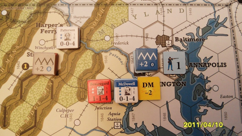 "CR: US Civil War de GMT  ""Campaign Game""  Sam_2517"