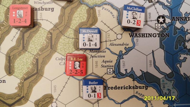 "CR: US Civil War de GMT  ""Campaign Game""  Sam_2616"