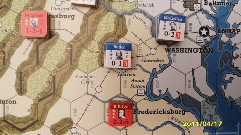 "CR: US Civil War de GMT  ""Campaign Game""  Sam_2619"