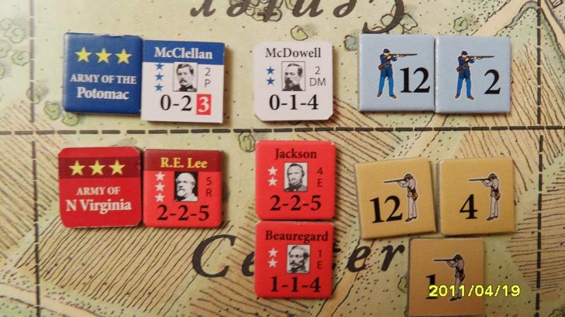 """CR: US Civil War de GMT  """"Campaign Game""""  - Page 2 Sam_2649"""