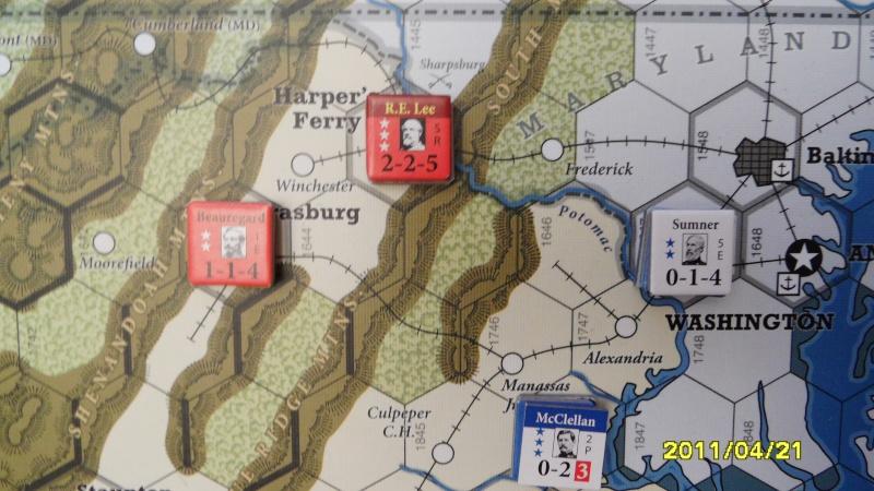 """CR: US Civil War de GMT  """"Campaign Game""""  - Page 2 Sam_2653"""
