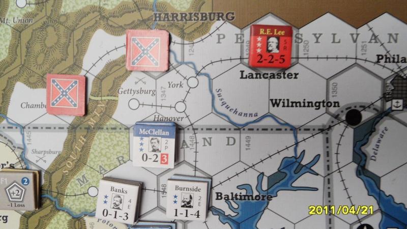 """CR: US Civil War de GMT  """"Campaign Game""""  - Page 2 Sam_2661"""