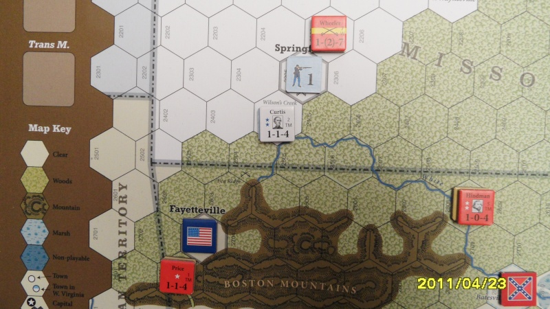 """CR: US Civil War de GMT  """"Campaign Game""""  - Page 2 Sam_2675"""