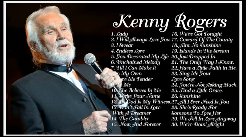 KENNY ROGERS: 20 Greatest Hits Of Kenny Rogers 11412