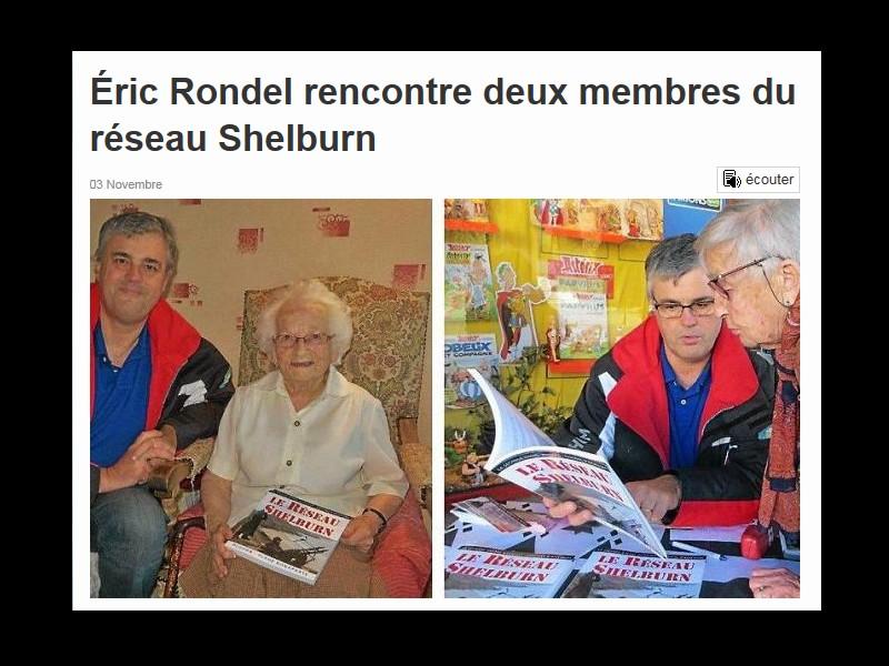 Éric Rondel rencontre deux membres du réseau Shelburn  Sans_218