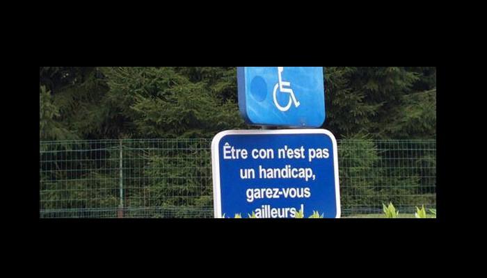Stationnement gênant ou très gênant sur un parking d'un supermarché (Parking privé) : La police peut-elle me verbaliser ? Sans_328