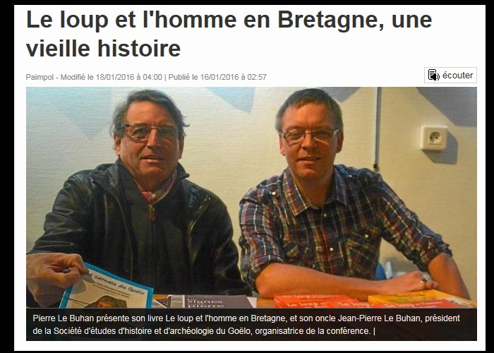 Le loup et l'homme en Bretagne, une vieille histoire  Sans_550
