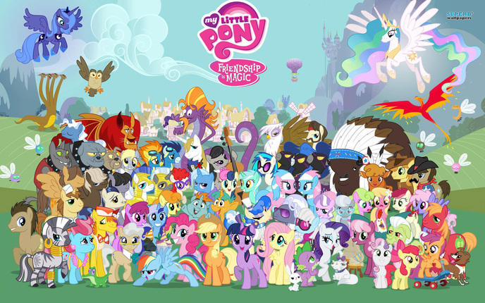 My Little Pony : Friendship is magic W_doss11