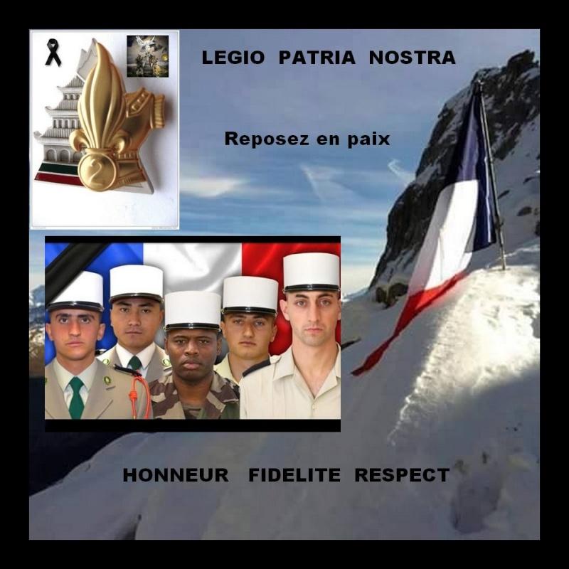 Cinq légionnaires décédés en montagne aujourd'hui Hommag10