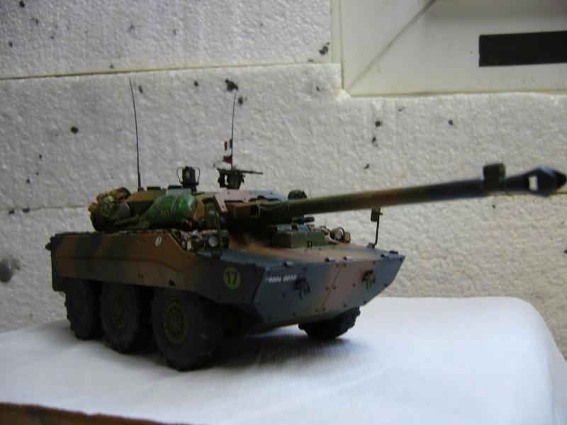 Véhicules français en OPEX.....VBL et AMX 10 RCR Tiger Model 1/35 - Page 2 P1030425