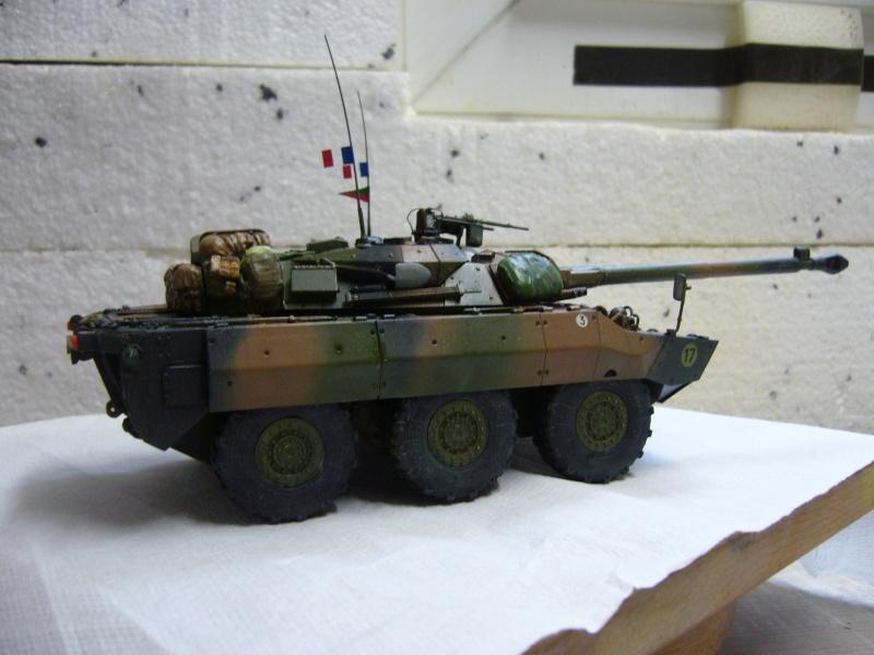 Véhicules français en OPEX.....VBL et AMX 10 RCR Tiger Model 1/35 - Page 2 P1030426
