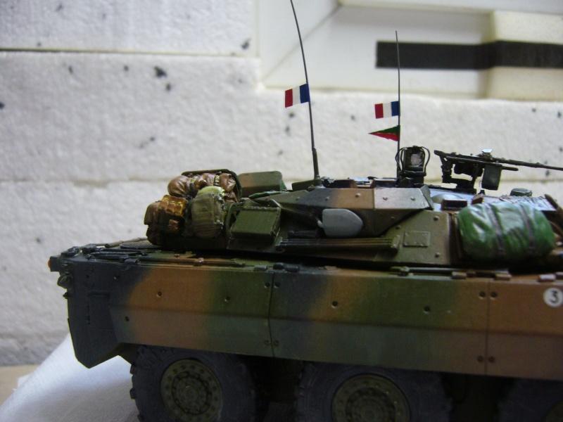 Véhicules français en OPEX.....VBL et AMX 10 RCR Tiger Model 1/35 - Page 2 P1030430