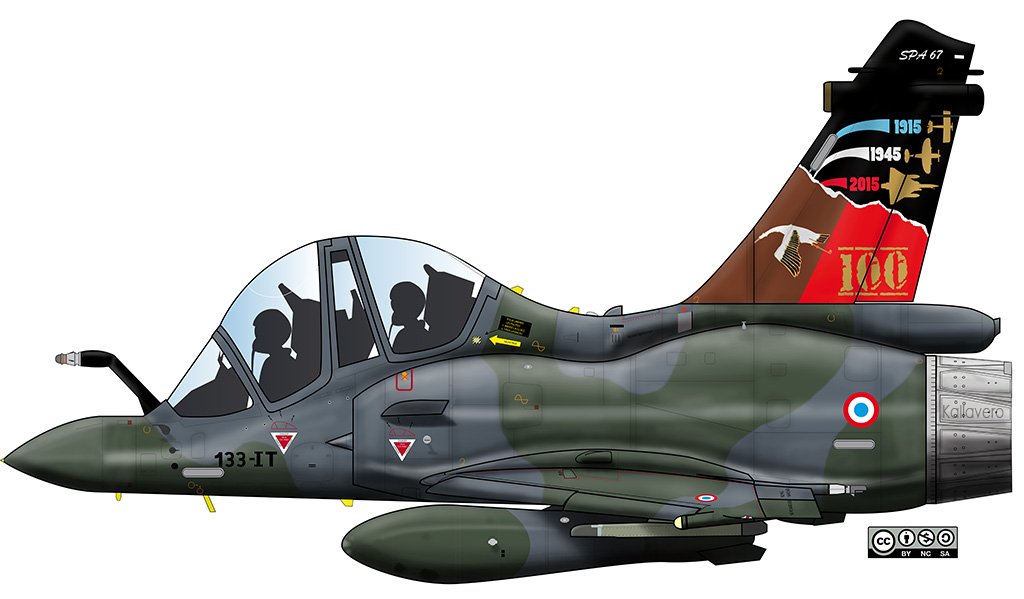Mirage 2000D - Livrées spéciales M2d62410