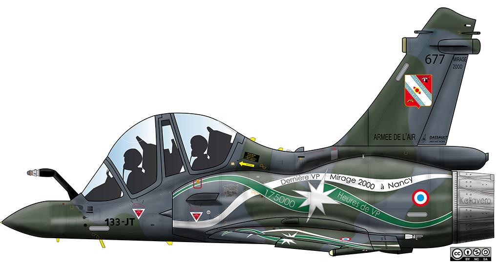 Mirage 2000D - Livrées spéciales M2d_6710