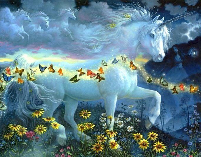 Licornes, centaures et chevaux ailés 03b77210