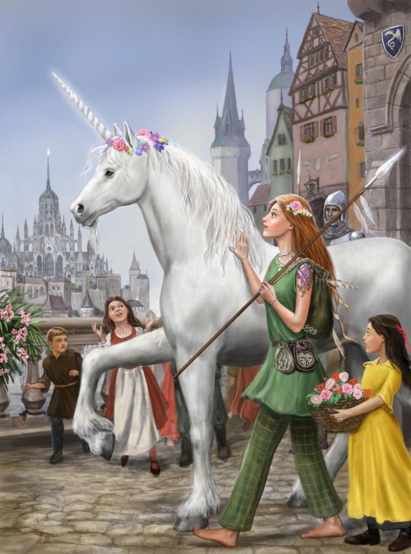 Licornes, centaures et chevaux ailés 63b43b10