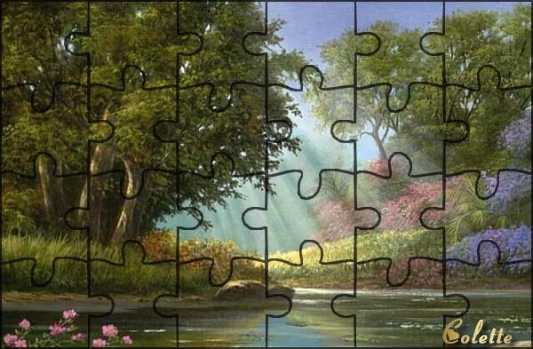 """N° 19 PFS """" Effet Puzzle """" Sans_t10"""