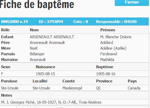 Arseneault Adelard famille Captur14