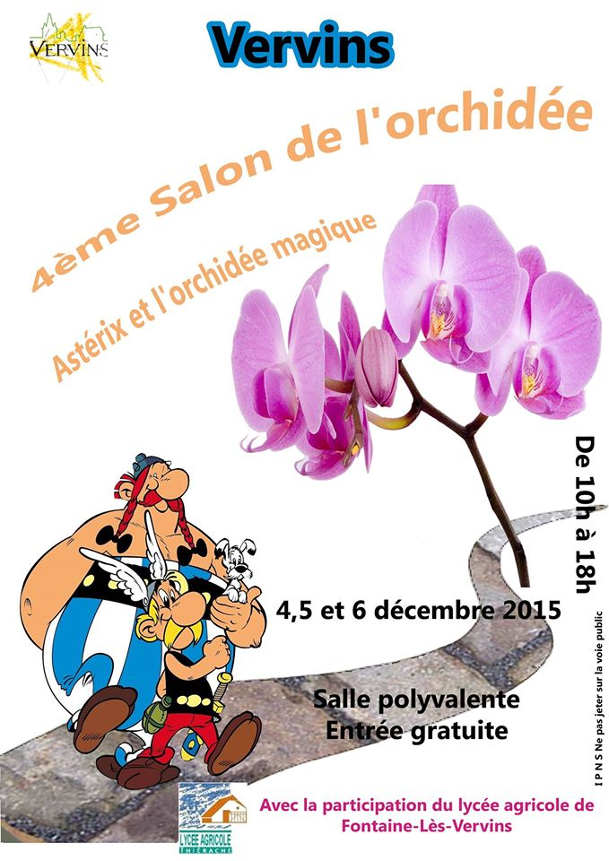 Salon de l'Orchidée à Vervins (02) 12291110