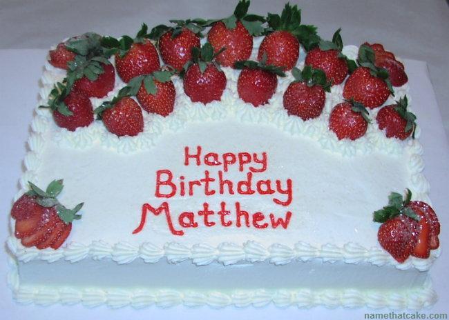 Happy Birthday, Matthew! Matthe10