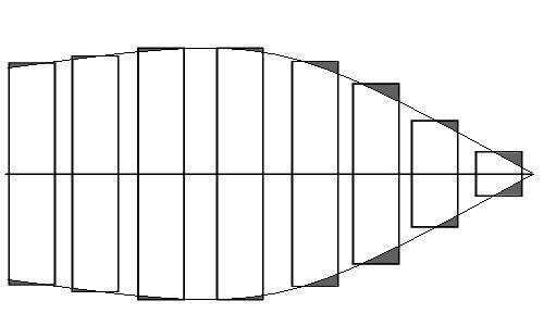 Bau einer Helling für die Bismarck  Strake10