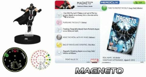 MAGNETO 040 Uncanny X-Men Marvel HeroClix Rare