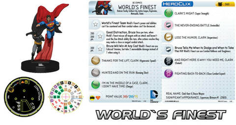 DC Heroclix World/'s Finest Desaad Uncommon 023