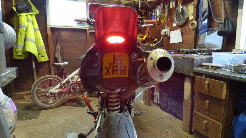CRF rear fender, hide away LED light and reg plate... P1050313