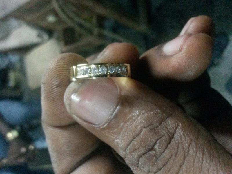 Bague alliance serti de diamants  20151210