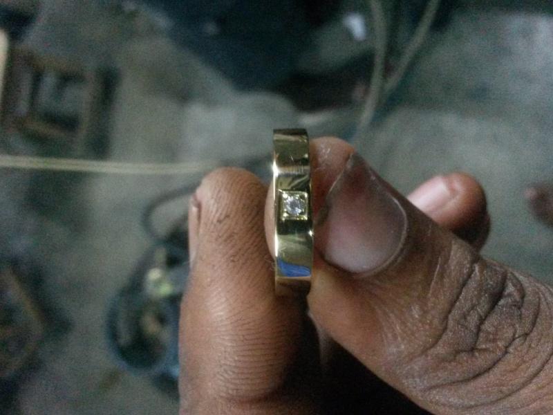 Bague alliance serti de diamants  20151211