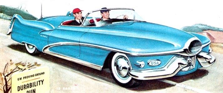 Buick Lesabre - Concept car 1951 10262110