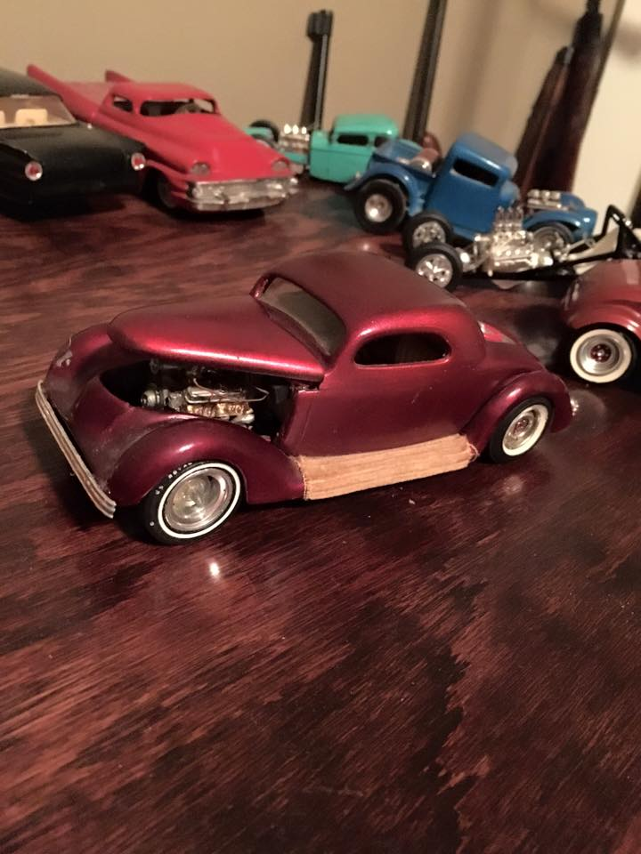 Vintage built automobile model kit survivor - Hot rod et Custom car maquettes montées anciennes - Page 4 10351810