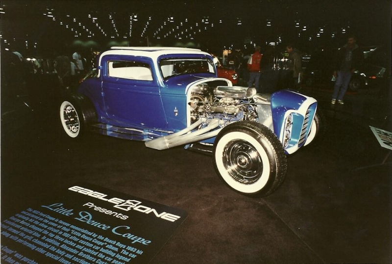 The Little Deuce Coupe - The Silver Sapphire - Clarence Catallo's 1932 Ford 10402610