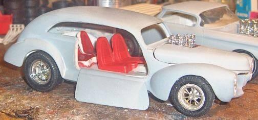 Vintage built automobile model kit survivor - Hot rod et Custom car maquettes montées anciennes - Page 4 10421410