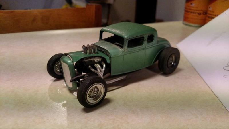 Vintage built automobile model kit survivor - Hot rod et Custom car maquettes montées anciennes - Page 3 11738110