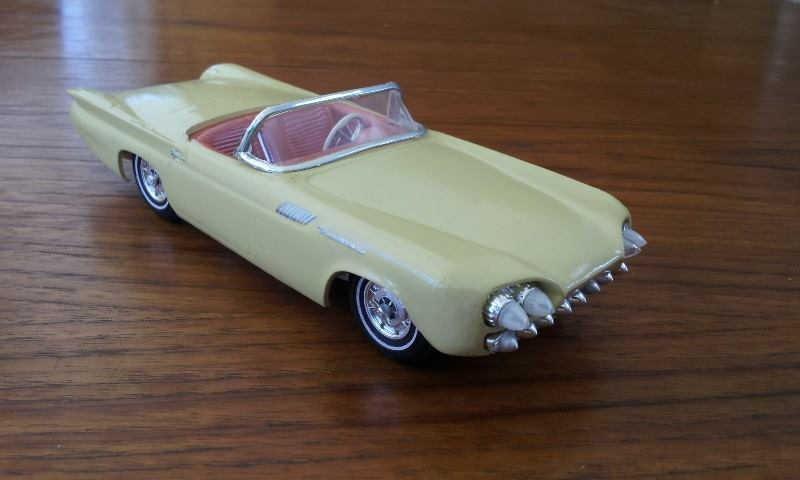 1957 Ford Thunderbird - Customizing kit  - Trophie Series - amt - 1/25 scale 11848610