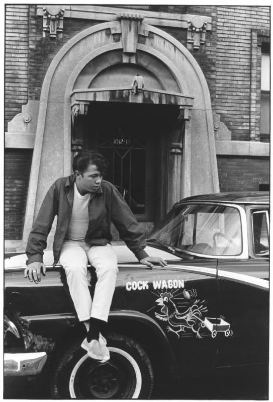 custom cars in the street - in situation ( vintage pics 1950's & 1960's)  - Page 4 12227610