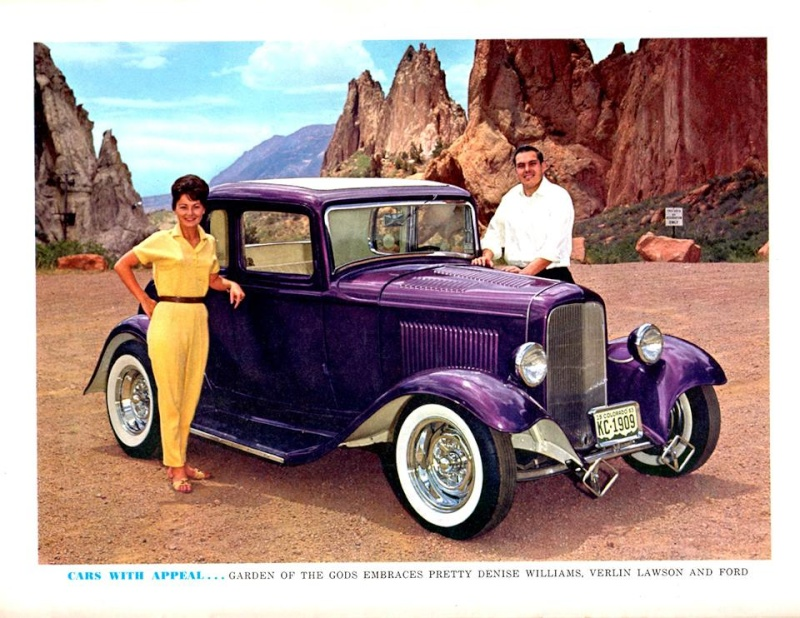 "Hot rod in street - Vintage pics - ""Photos rétros"" -  - Page 5 12243013"