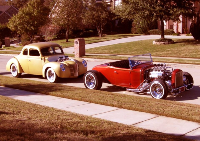 "Hot rod in street - Vintage pics - ""Photos rétros"" -  - Page 5 12308510"