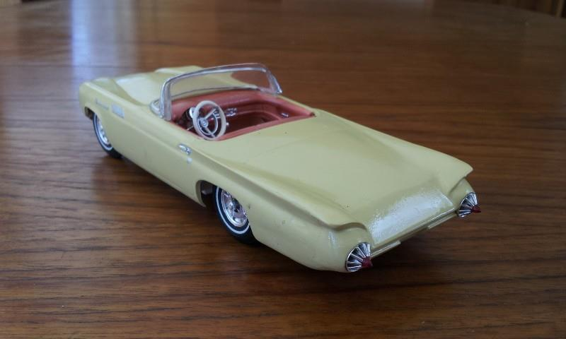 1957 Ford Thunderbird - Customizing kit  - Trophie Series - amt - 1/25 scale 12370010