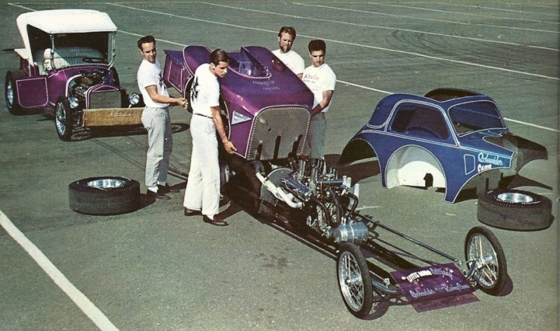 1950's & 1960's hot rod & dragster race - Page 4 12401010