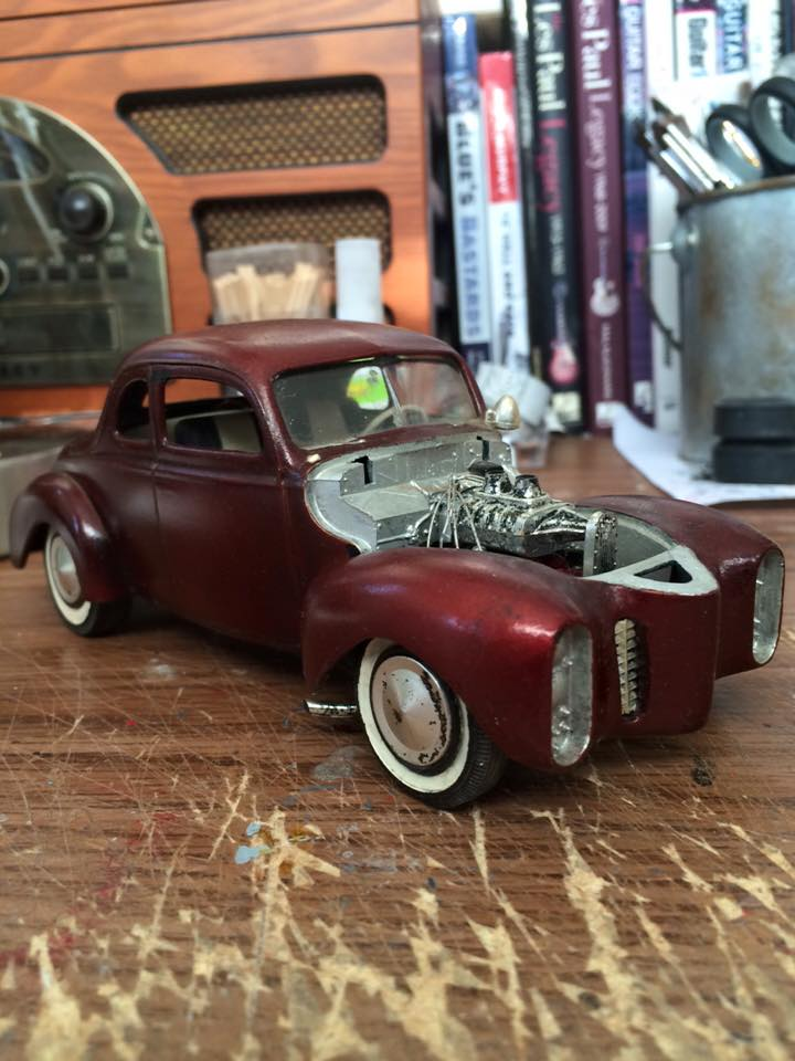 Vintage built automobile model kit survivor - Hot rod et Custom car maquettes montées anciennes - Page 4 12418012