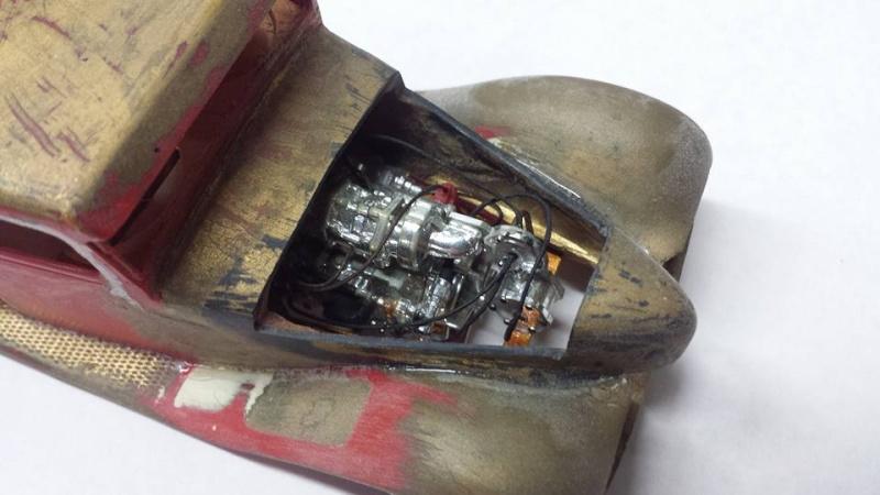 Vintage built automobile model kit survivor - Hot rod et Custom car maquettes montées anciennes - Page 4 12645210
