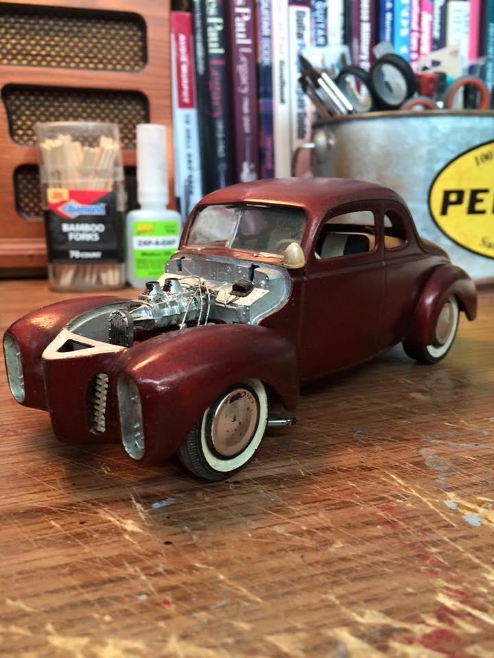 Vintage built automobile model kit survivor - Hot rod et Custom car maquettes montées anciennes - Page 4 12646910