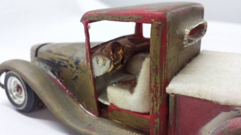 Vintage built automobile model kit survivor - Hot rod et Custom car maquettes montées anciennes - Page 4 12650811