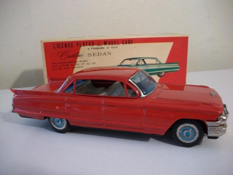 us car -  tôle - Tin Toys -  1950's & 1960's - Page 3 149