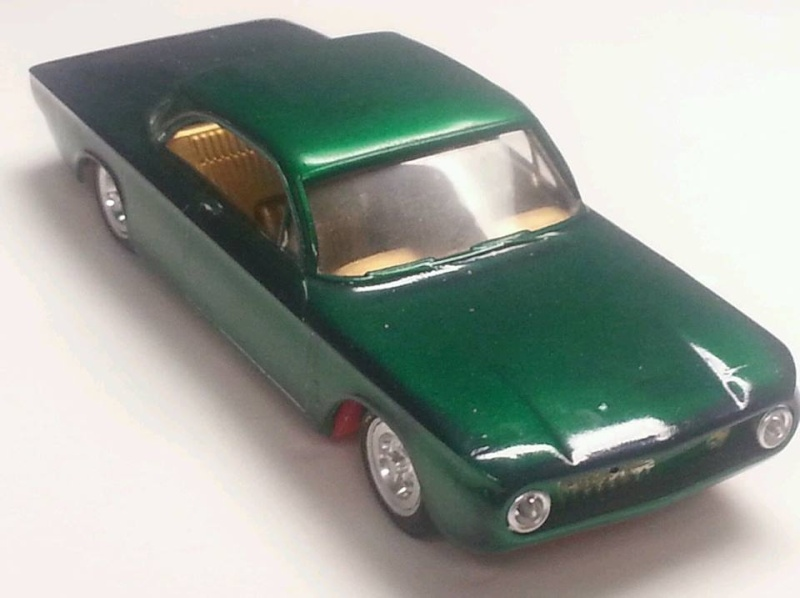 1962 Chevrolet Corvair - Customizing kit - amt - 1/25 scale 15442810