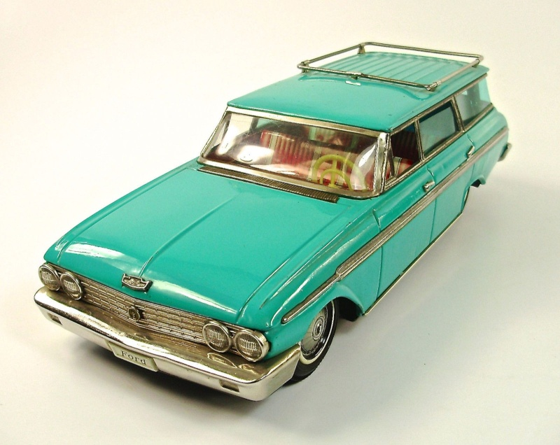 us car -  tôle - Tin Toys -  1950's & 1960's - Page 3 159