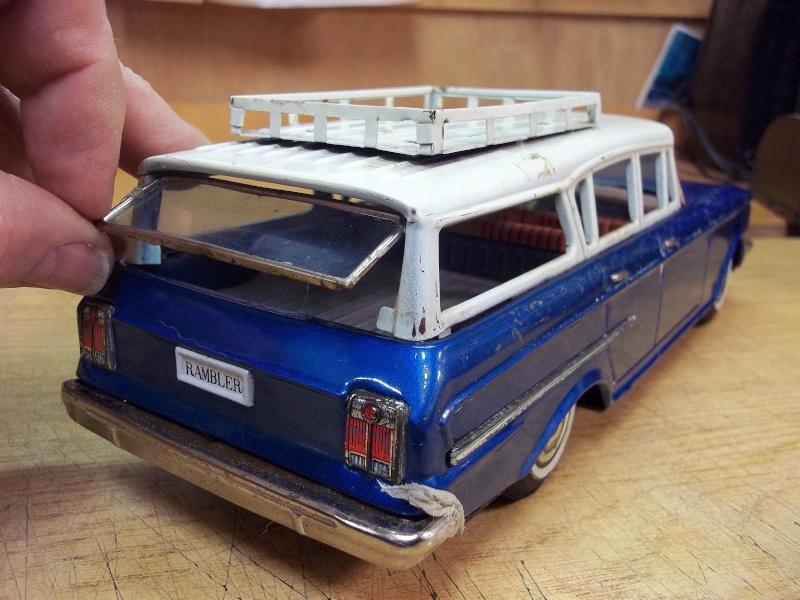 us car -  tôle - Tin Toys -  1950's & 1960's - Page 4 363